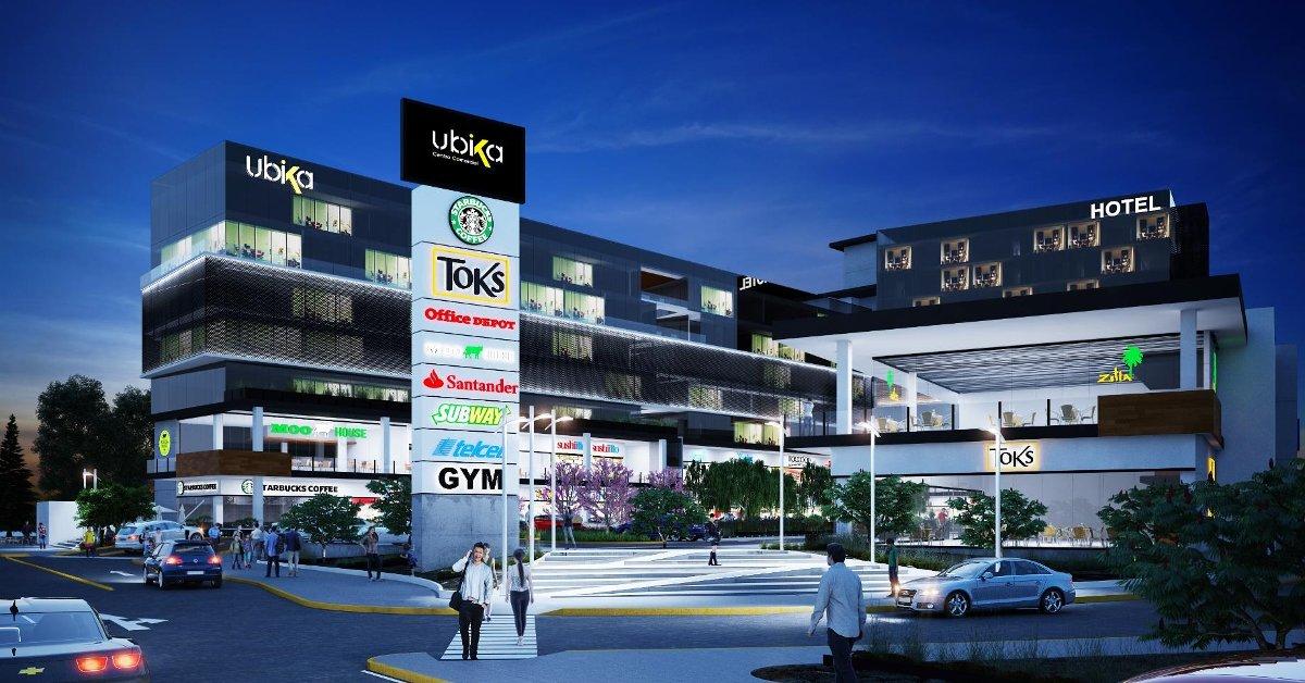 Plaza ubika universidad queretaro locales comerciales for Universidades sabatinas en queretaro