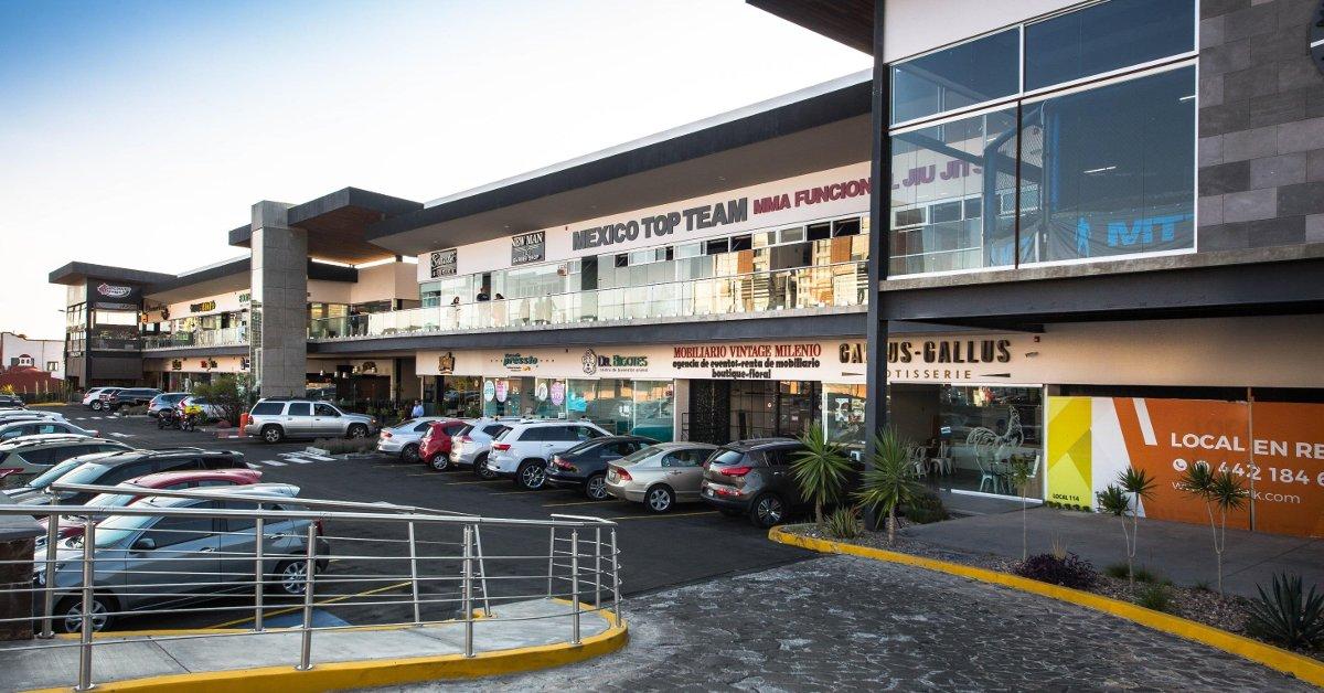 Plaza Ubika Milenio Queretaro - Locales Comerciales Queretaro